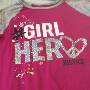 Girls Justice long sleeve t